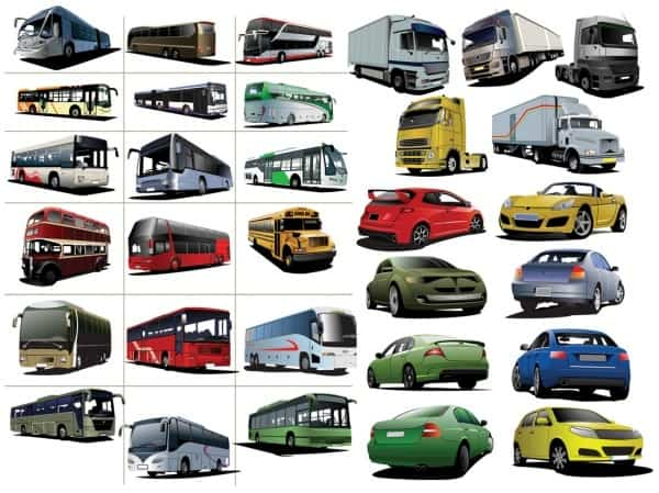 We are car vector material