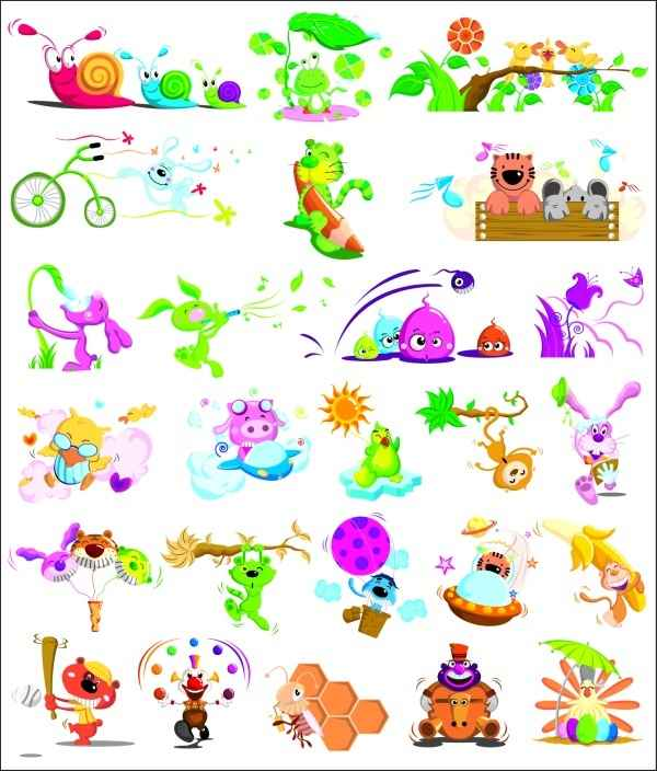 various insects animal vector