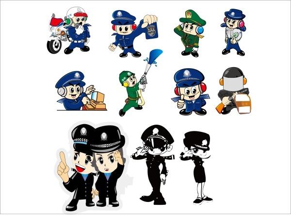 Vector police