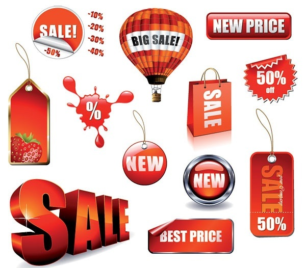sales related decorative
