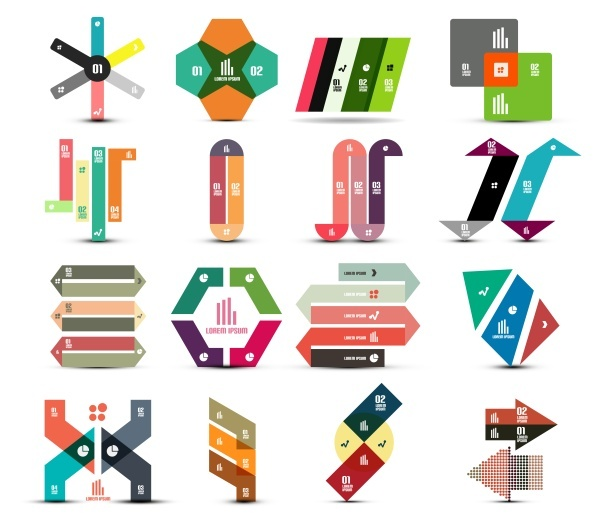 Fashion creative digital label logo