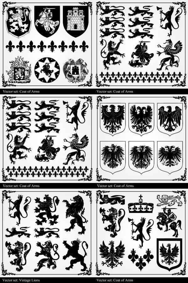 graphic black and white retro pattern