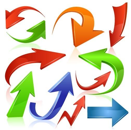 Web arrow icon