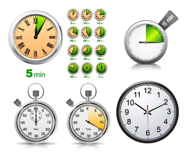 stopwatch clock vector material