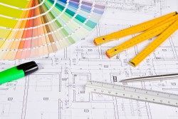 Architectural design tools and picture material