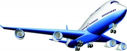 Aviation aircraft vector