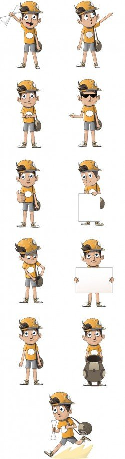 Boy Vector Character – Vector Characters