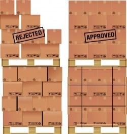 Cargo carton vector