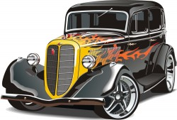 Cartoon vector transport vehicles