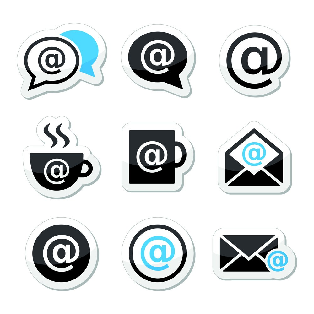 Coffee with WIFI sticker design vector