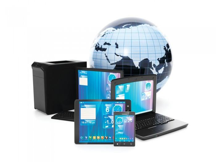 Computer Science and Technology and Earth picture material