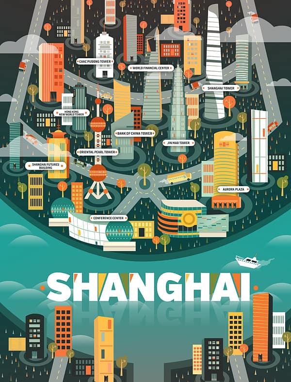 Shanghai Map