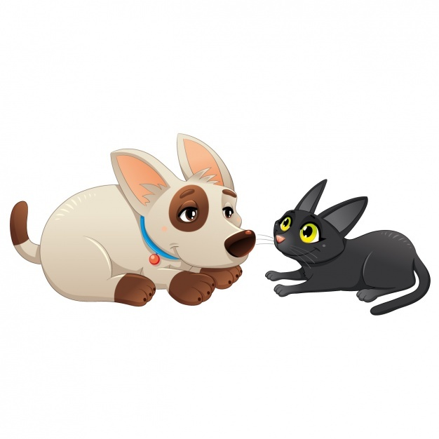 Dog and cat design Vector | Free Download