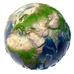 Earth background material picture material