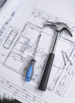Engineering design drawings picture material