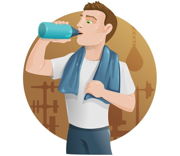 Fitness Guy Vector Character – Vector Characters