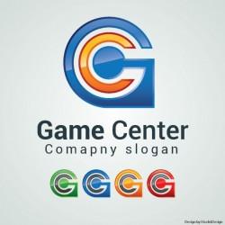 Game center logo Vector   Free Download