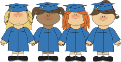 Girls Graduating Clip Art – Girls Graduating Image – Cliparts.co