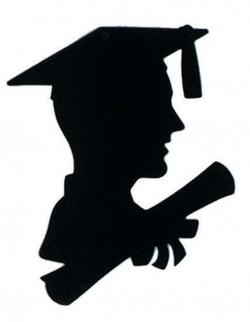 Graduation Cap Silhouette – Cliparts.co