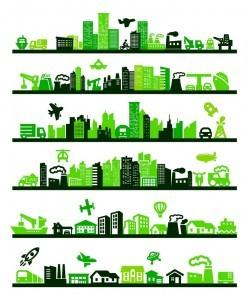 Green City Environmental vector