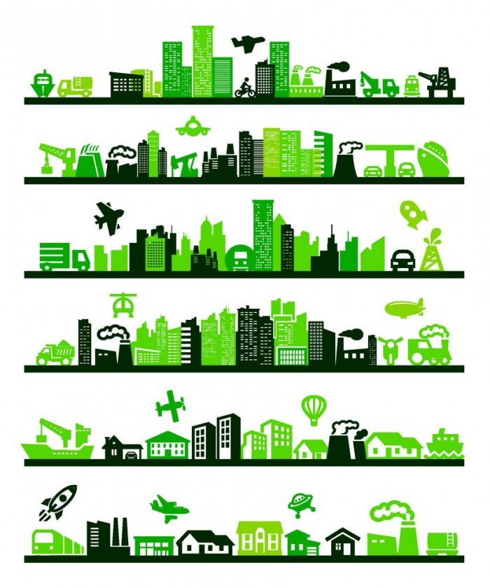 Green City Environmental vector