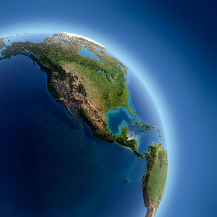 Green Earth map technology background picture material