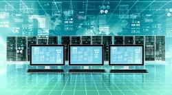High-tech digital technology vector