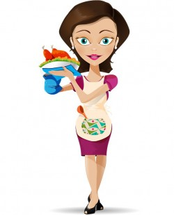 Housewife Vector Character – Vector Characters