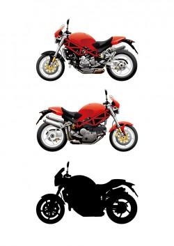 Motor sports vector