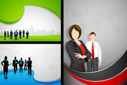 Occupational character illustration vector