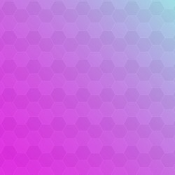 Pink and purple abstract background with hexagons Vector | Free Download