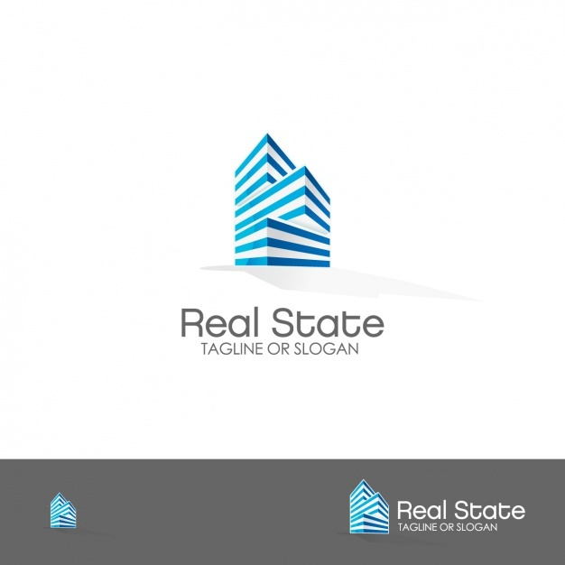 real estate logo template vector free download epin free