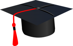 Red Grad Cap Clip Art – Vector Clip Art Online, Royalty Free … – Cliparts.co