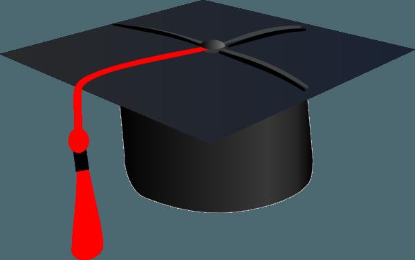 Red Grad Cap Clip Art – Vector Clip Art Online, Royalty Free … – Cliparts.co
