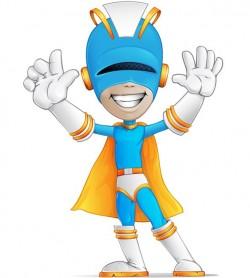 Superhero Vector Character – Vector Characters