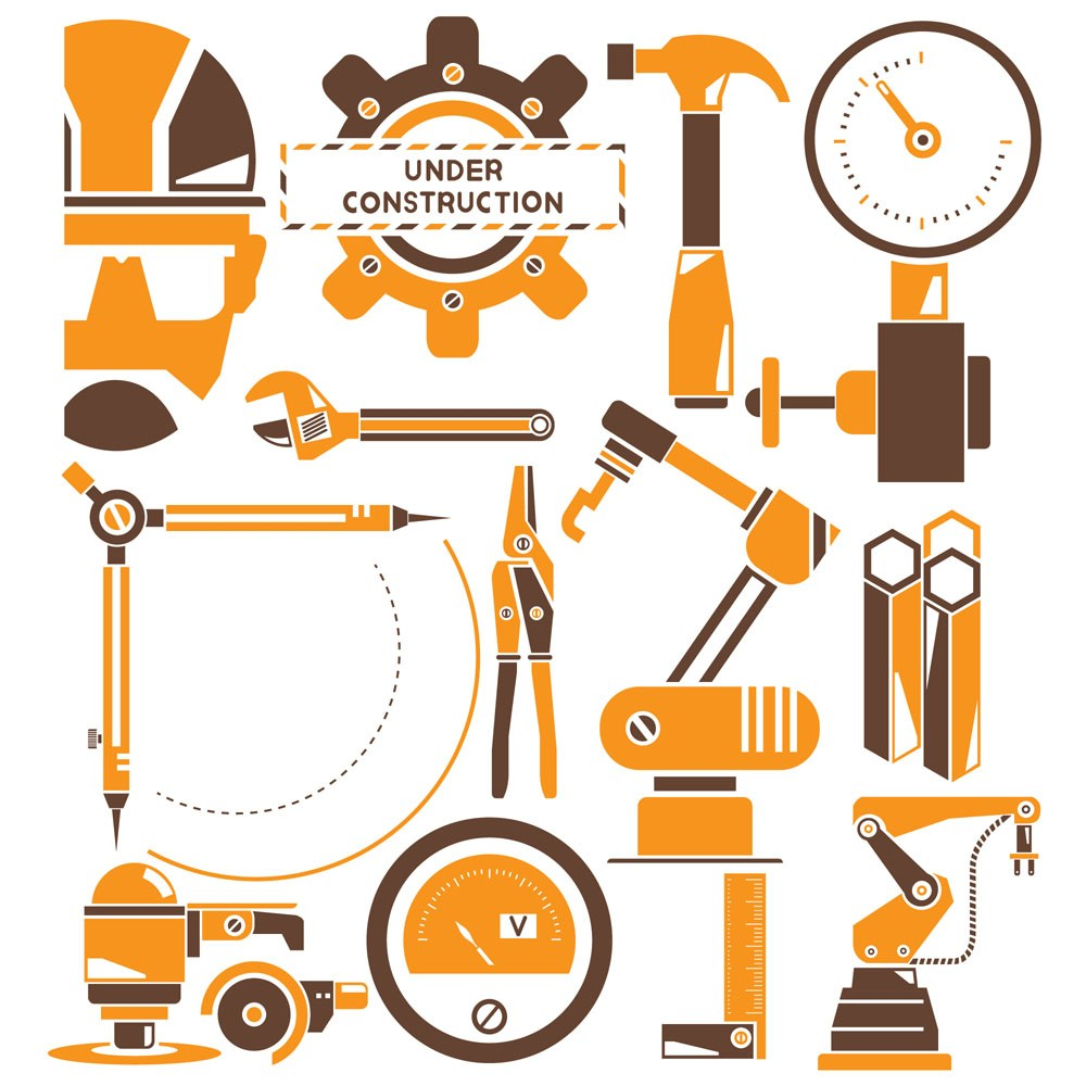 Tools icon vector