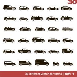 Vector car icon design vector