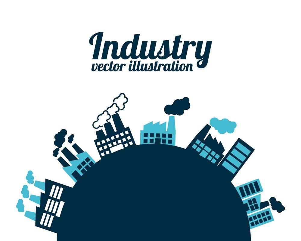 Industry vector design house
