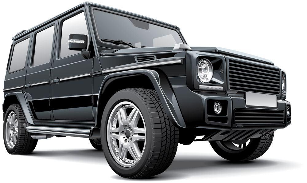Vector jeep