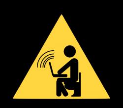 Wireless Wifi Hotspot Clip Art – Vector Clip Art Online, Royalty