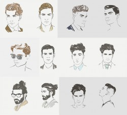 Men style character