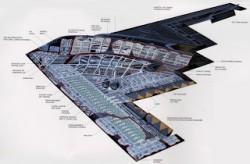 B2 Aircraft Cutaway