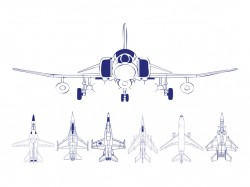 Airplanes Outlines