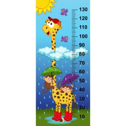 baby height measure cartoon styles vector 05