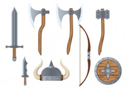 Barbarian Icon Vector Free