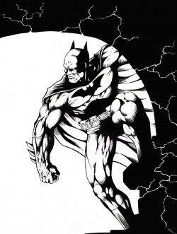 Batman Inks by MariaArnt on DeviantArt