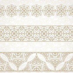 beige decor pattern borders