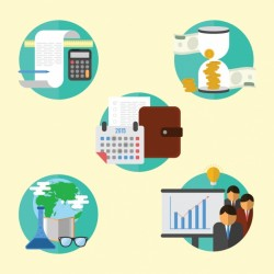 Business icons set Vector | Free Download