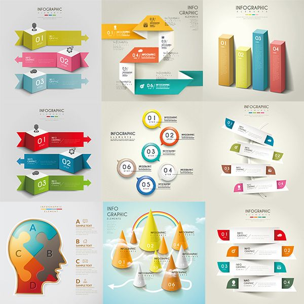 Business infographics vector pictures