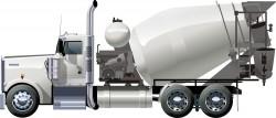 Cartoon cement tanker Vector
